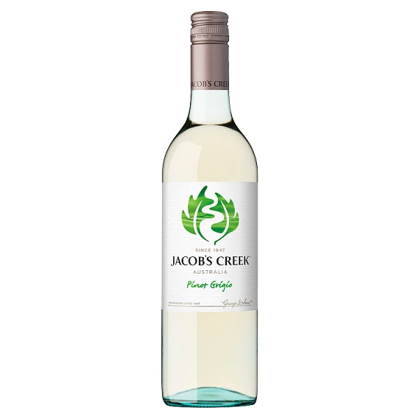 Jacob's Creek Pinot Grigio White Wine 75cl