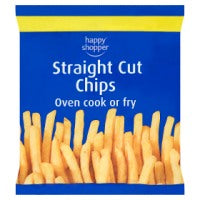 Happy Shopper Straight Cut Chips 750g