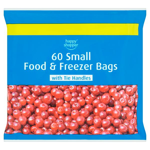 Happy Shopper 60 Small Food & Freezer Bags