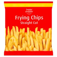 Happy Shopper frying chips Straight cut 750g