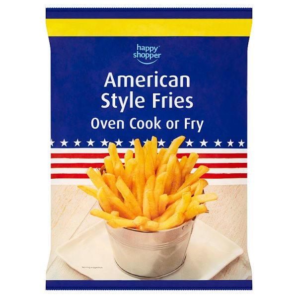 Happy Shopper American Style Fries 750g