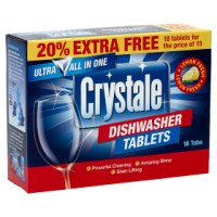 Crystale 18 Dishwasher Tablets