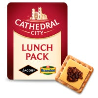 Cathedral City Cheese, Crackers & Pickle 122g