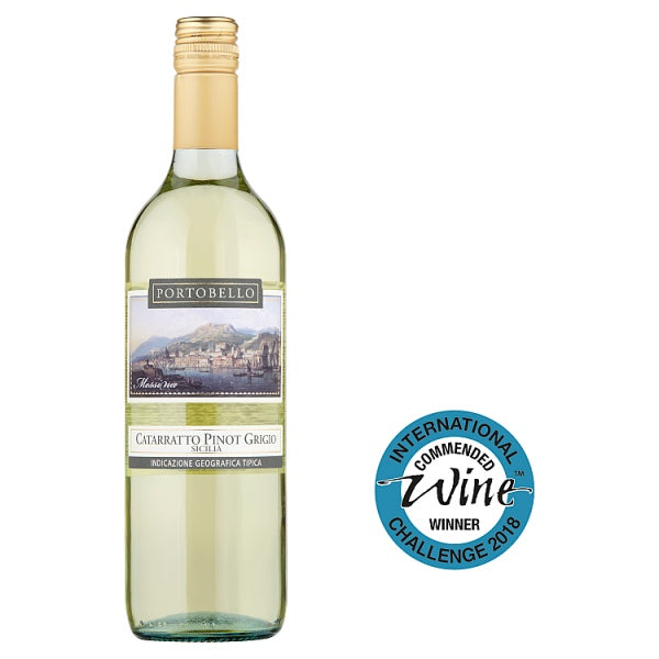 Portobello Catarratto Pinot Grigio 75cl