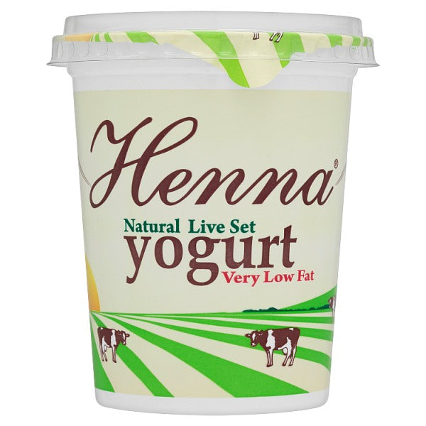 Henna Natural Live Set Yogurt 400g
