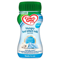 Cow & Gate Hungry First Infant Milk from Birth 200ml