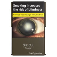 Silk Cut Purple 20 Cigarettes Track & Trace Compliant