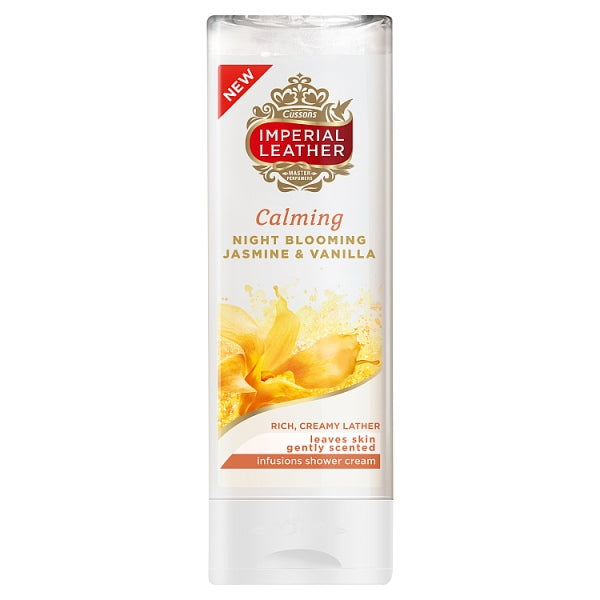 Imperial Leather Calming Night Blooming Jasmine & Vanilla Infusions Shower Cream 250ml