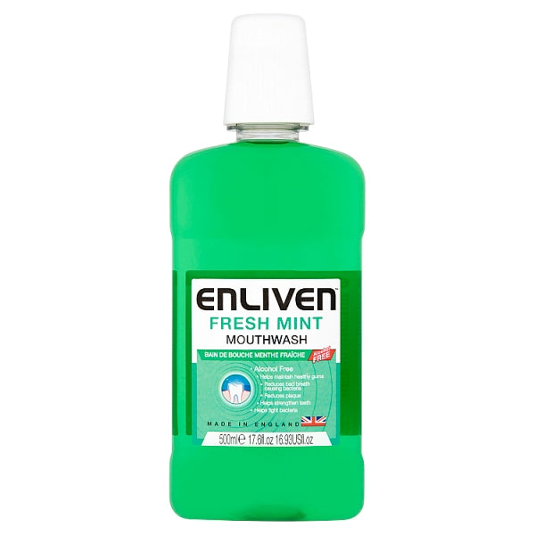 Enliven Freshmint Mouthwash 500ml