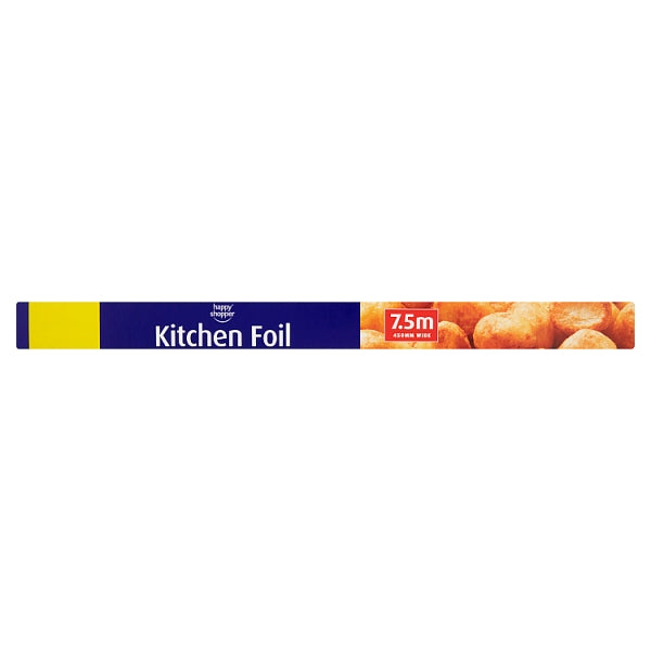 Happy Shopper Kitchen Foil 7.5m x 450mm