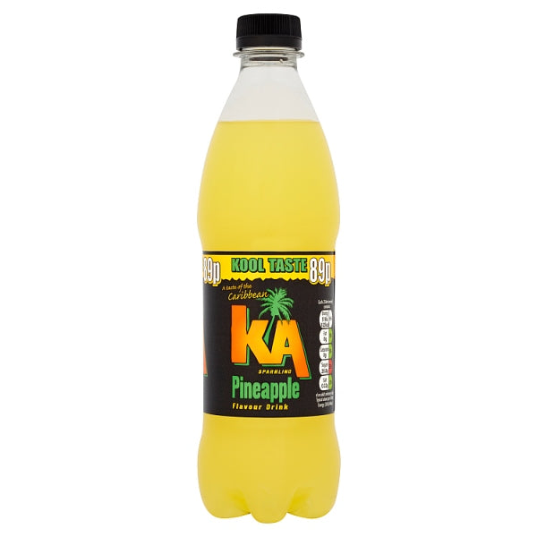KA Sparkling Pineapple 500ml Bottl