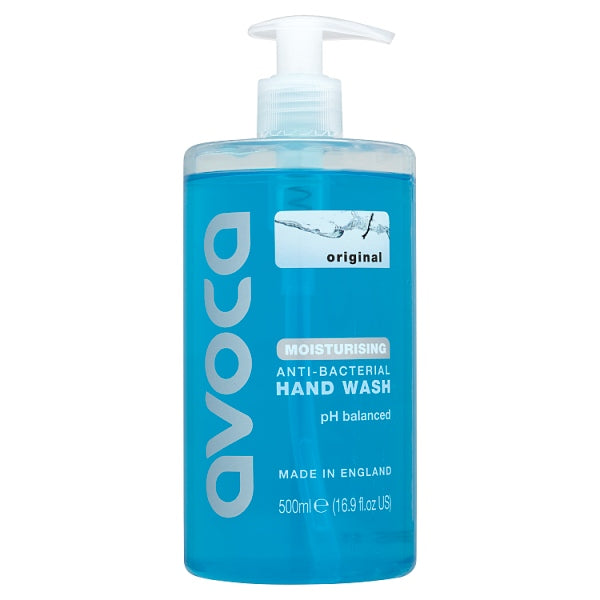 Avoca Original Moisturising Anti-Bacterial Hand Wash 500ml