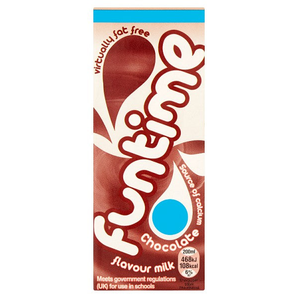 Funtime Chocolate Flavour Milk 200ml