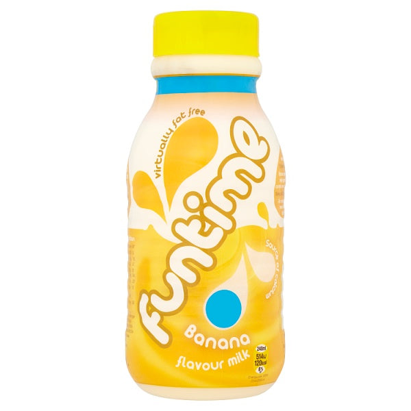 Funtime Banana Flavour Milk 480ml