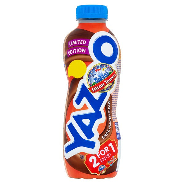 Yazoo Limited Edition Choc-Hazelicious 400ml