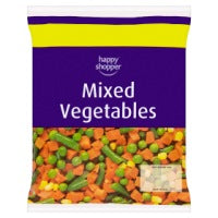Happy Shopper Mixed Vegetables 500g