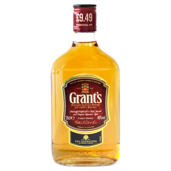 Grant's Blended Scotch Whisky 35cl PMP