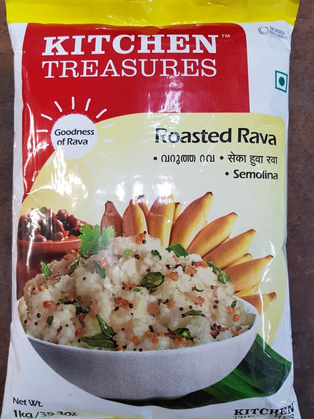 Roasted Rava