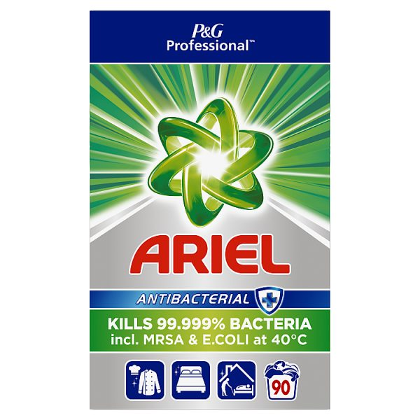 Ariel Professional Powder Detergent Antibacterial 5.85kg 90 Washes