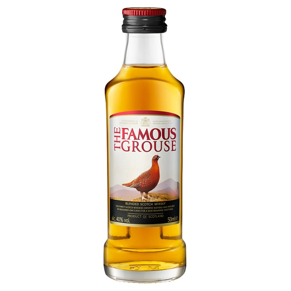 The Famous Grouse Finest Blended Scotch Whisky 50ml