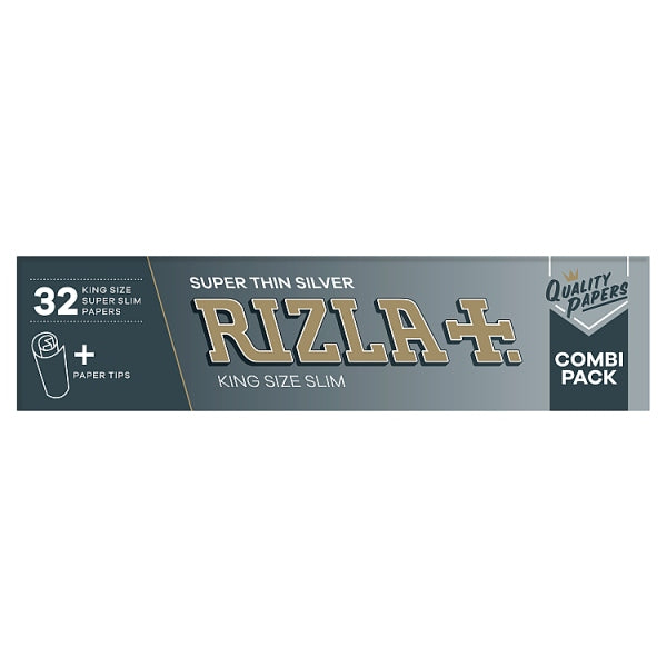 Rizla Super Thin Silver King Size Slim Combi Pack