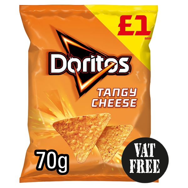 Doritos Tangy Cheese Tortilla Chips £1 PMP 70g