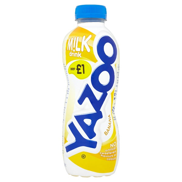Yazoo milk 400 ml - Banana