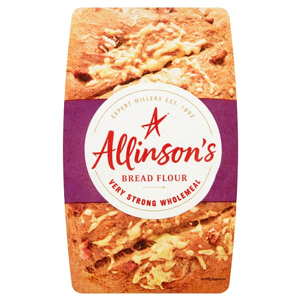 Allinson's Bread Flour Very Strong Wholemeal 1.5kg