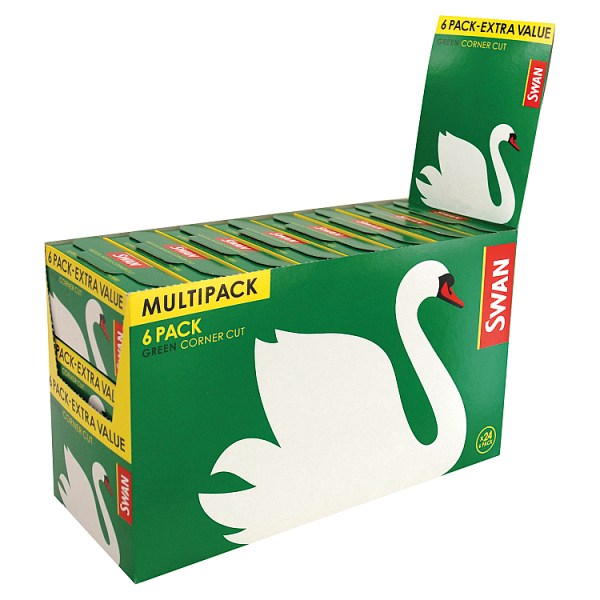 Swan Green Corner Cut 24 x 6 Pack