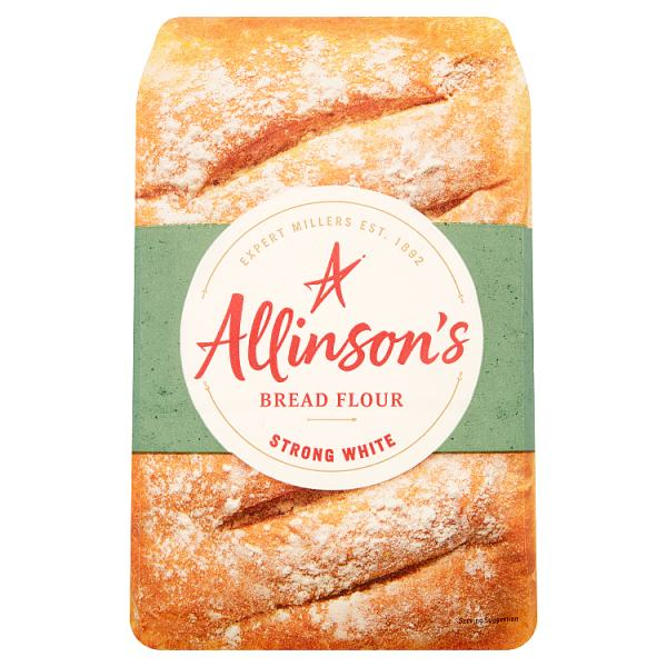 Allinson's Strong White Bread Flour 1.5kg