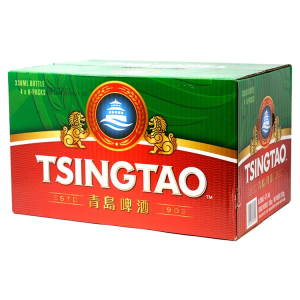 Tsingtao Beer 24 x 330ml