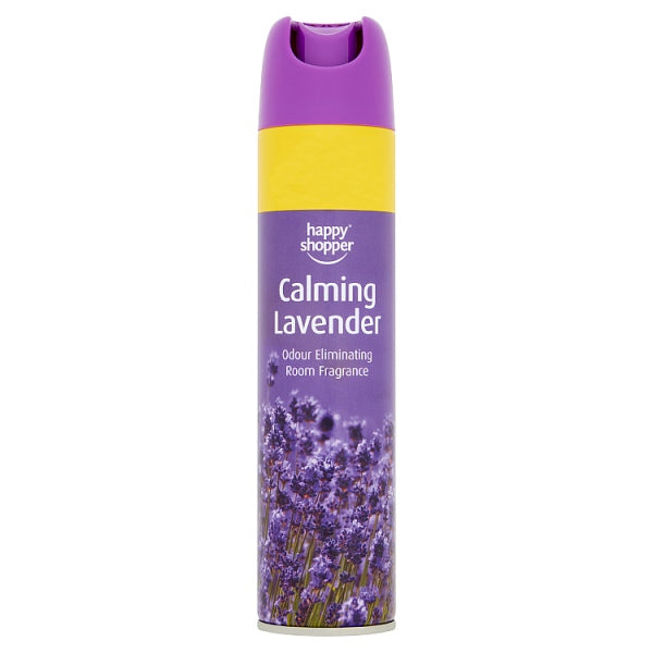 Happy Shopper Calming Lavender Odour Eliminating Room Fragrance 240ml
