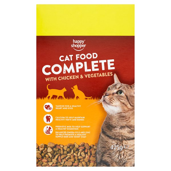 Happy Shopper Cat Food Complete with Chicken & Vegetables 425g