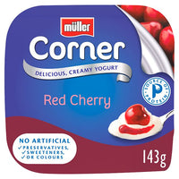 Müller Corner Red Cherry Yogurt 143g