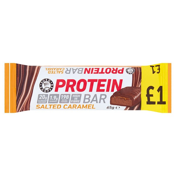 Euro Shopper Protein Bar Salted Caramel 65g