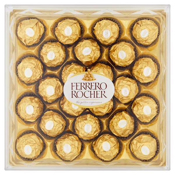 Ferrero Rocher Gift Box of Chocolate 24 Pieces (300g)