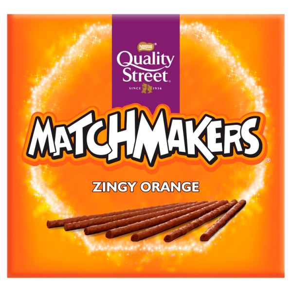 Quality Street Matchmakers Zingy Orange 120gRecent Purchase
