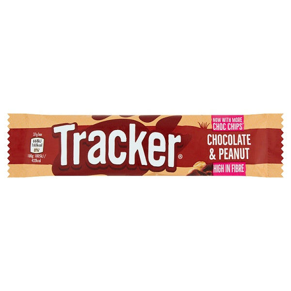 Tracker Chocolate & Peanut 37g