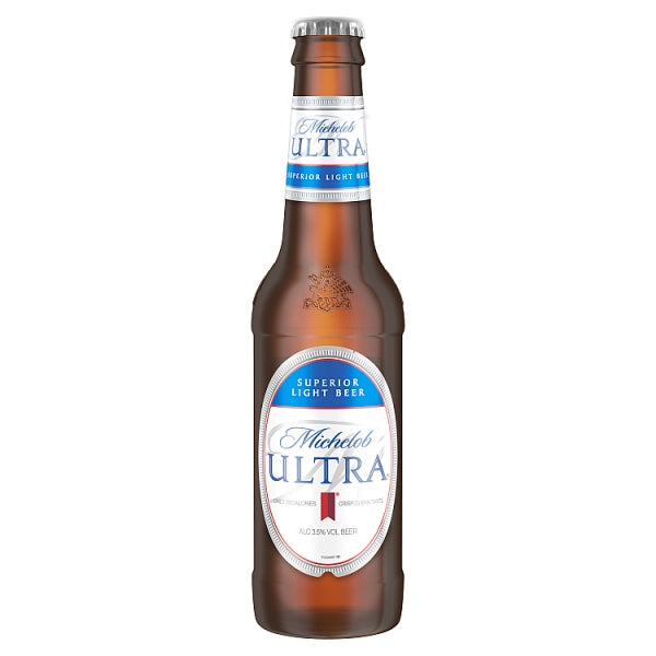 Michelob Ultra Superior Light Lager Beer Bottles 4 x 330ml