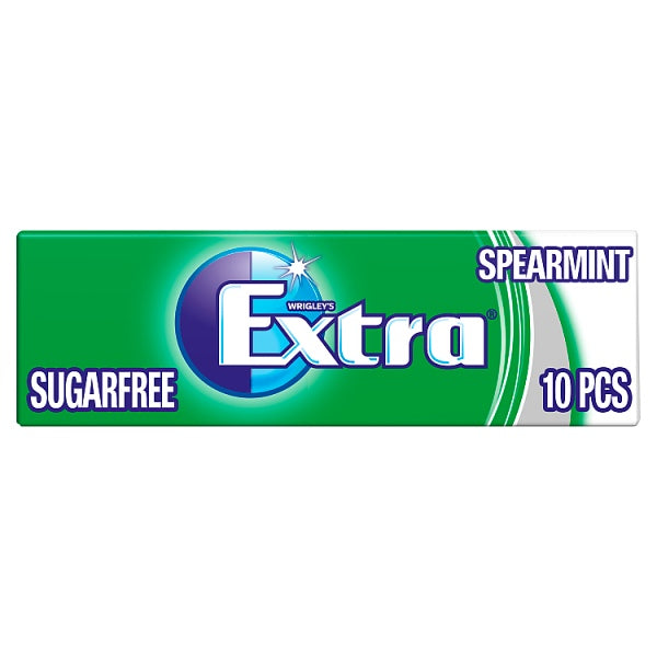 Extra Spearmint Chewing Gum Sugar Free 10 PiecesRecent Purchase