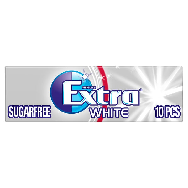 Extra White Chewing Gum Sugar Free 10 PiecesRecent Purchase