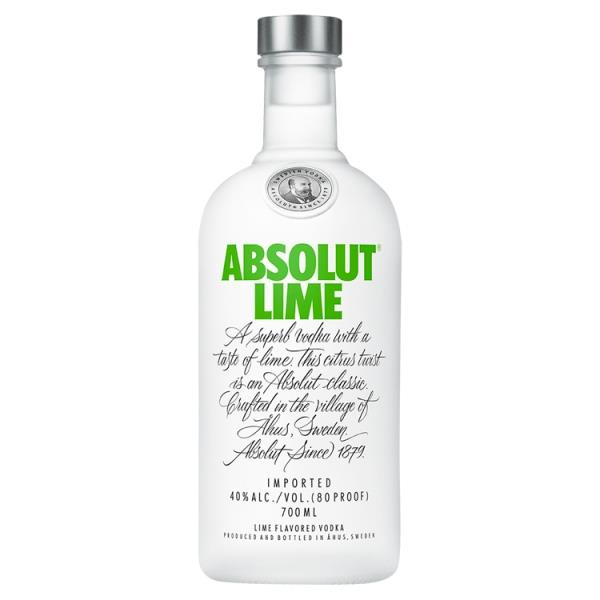 Absolut Lime Flavoured Vodka 70cl