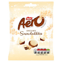 Aero Snowbubbles Milk Chocolate Sharing Pouch 80g