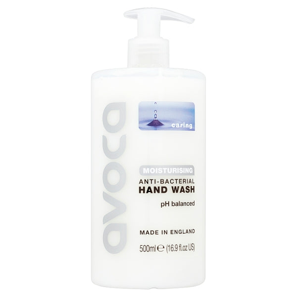 Avoca Caring Moisturising Anti-Bacterial Hand Wash 500ml