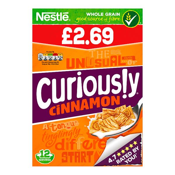 Curiously Cinnamon 375g