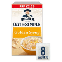 Quaker Oat So Simple Golden Syrup Porridge