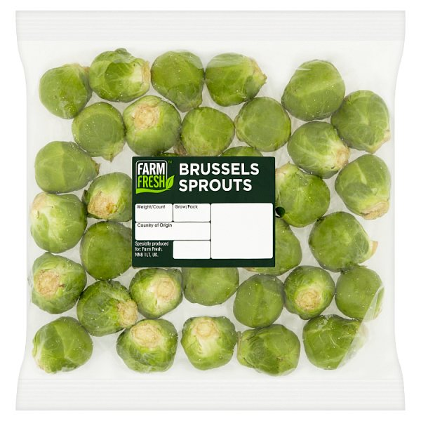 Farm Fresh Brussels Sprouts