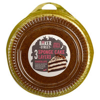 Baker Street 3 Chocolate sponge Cake Layers 400g- 3pk