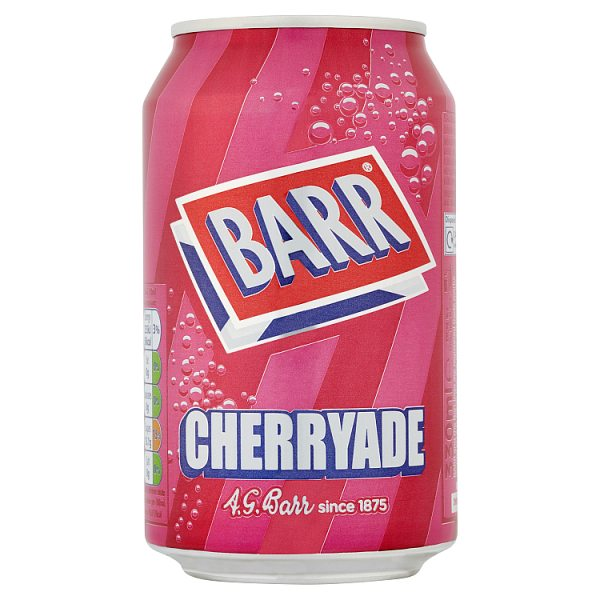 Barr Cherryade 330ml Can