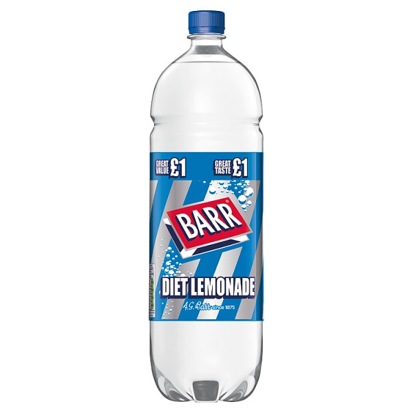 Barr Diet Lemonade 2L Bottle